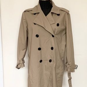Kenneth Cole Women's Trench 3/4 length Large